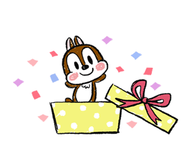 Chip 'n' Dale: Properly Cute Stickers 21