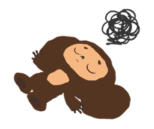 Stickers Cheburashka 20
