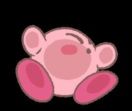 Kirby's Puffball Sticker Set 24