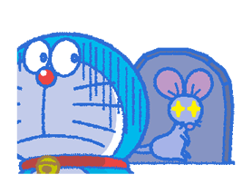 Doraemon & Dorami Stickers 22