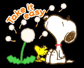 Super jarní Snoopy Nálepky 22