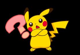 Pikachu สติ๊กเกอร์♪ 9