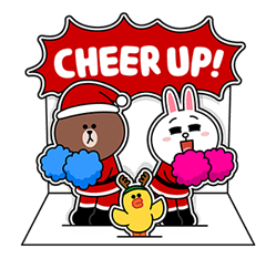 Brown Cony Greeting 22