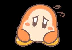 Kirby's Puffball Sticker Set 23