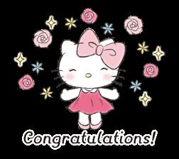 Hello Kitty Polite Stickers 23