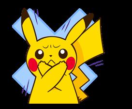 Pikachu สติ๊กเกอร์♪ 10