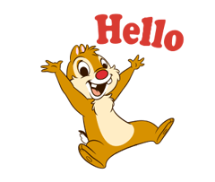 Chip 'n' Dale 2 Stickers 23