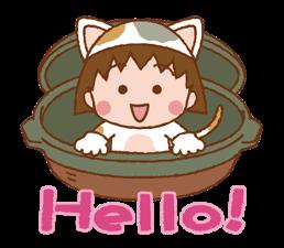 Chibi Maruko-nyan matricák 24