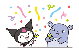 Kuromi贴纸 24