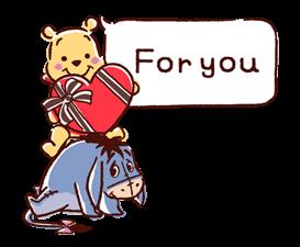 Winnie the Pooh Μπαλόνια Αυτοκόλλητα Ομιλία 24