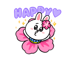 LINE Characters: Cute and Soft Summer Stickers 24