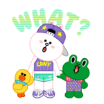 LINE Characters: Party Time Stickers 18