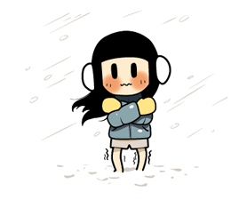Smile Brush: Winter Edition Stickers 4