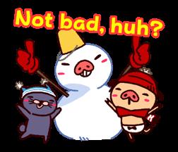 PANPAKA PANTS: Winter Dance Stickers 3