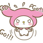 My Melody: Sweet as Can Be! Stickers 7
