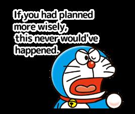 Doraemon ਦੀ ਕਹਾਵਤ ਸਟਿੱਕਰ 3