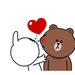Brown & Cony's Heaps of Hearts! Stickers 3