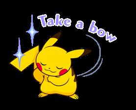 Pikachu สติ๊กเกอร์♪ 14