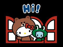 LINE ΦΙΛΟΙ & HELLO KITTY 3