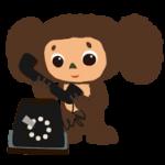 Cheburashka स्टिकर 2