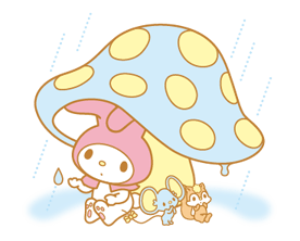 My Melody 2 Stickers 3