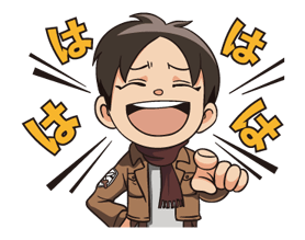 Attack on Titan Stickers 3