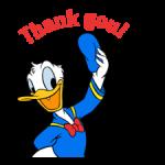Donald kacsa matricák 3