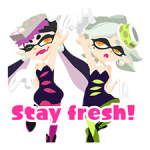 Splatoon: Inkling Injection Stickers 3