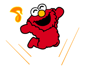 Sesame Street Stickers 2 4