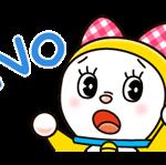 Dorami Stickers 4