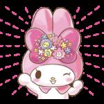 ਮੇਰੀ ਮੈਲੋਡੀ: ਤੁਹਾਡੇ ਲਈ ਬਹੁਤ Cute! ਸਟਿੱਕਰ 4