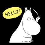Stiker Moomin 2 4