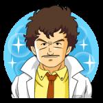 Dr.Slump -Arale klistremerker 4