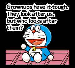Doraemon ਦੀ ਕਹਾਵਤ ਸਟਿੱਕਰ 4