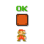 Super Mario Bros. 8-бітові наклейки 4