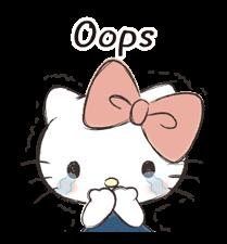 Hello Kitty Polite Stickers 4