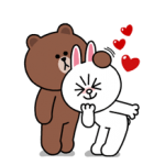 Brown & Cony's Heaps of Hearts! Stickers 4