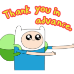 Moving Adventure Time 2 Stickers 4