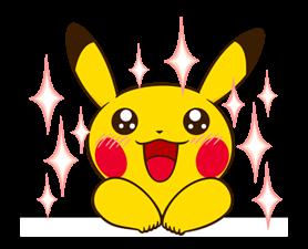 Pikachu สติ๊กเกอร์♪ 15