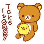 松弛熊〜Kiiroitori日记〜贴纸 4