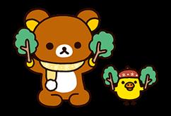 Rilakkuma: Chairoikoguma Stickers 4