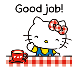 Hello Kitty Lovely Stickers 4