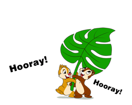 Chip 'n' Dale Summer Delight Stickers 5