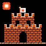 Super Mario Bros. 8-бітові наклейки 5