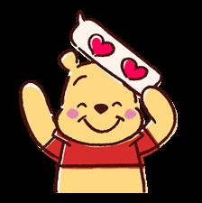 Winnie the Pooh Μπαλόνια Αυτοκόλλητα Ομιλία 5