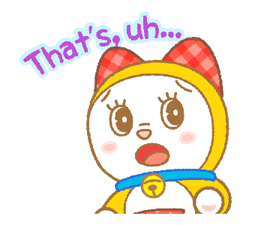 Doraemon & Dorami Stickers 5