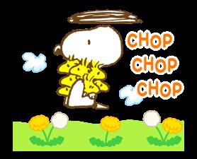 Super jarní Snoopy Nálepky 5
