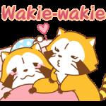 Rascal og Lily: Vaskebjørne i Kærlighed klistermærker 5