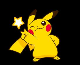 Pikachu สติ๊กเกอร์♪ 16