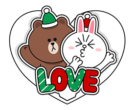 Brown Cony Greeting 5